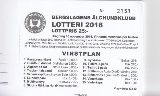 Lotteriet 2016
