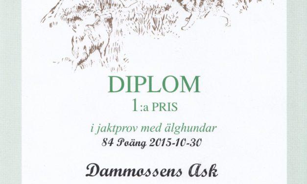 Diplom till årsmötet