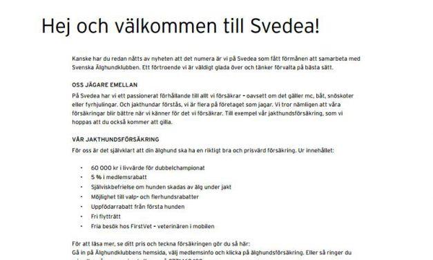 Välkommen till Svedea